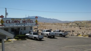 Clown Motel cemeter