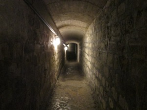 Catacomb tunnels