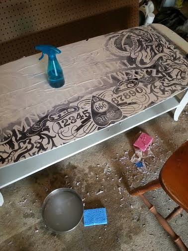 Projects - Ouija coffee table